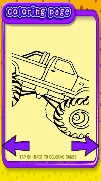 kids games coloring page car truck version on the app store