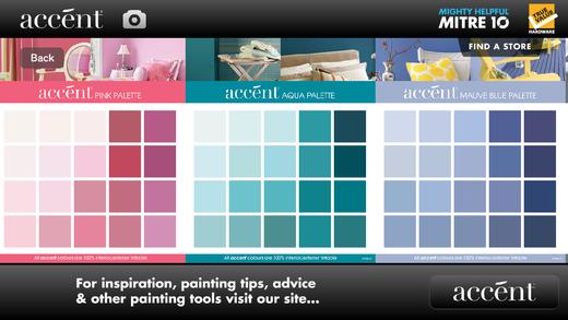 Accent Paint Colour Chart Accent Paint Colour Chart Interior Design