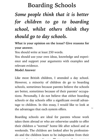 BENEFITS OF BOARDING SCHOOLS