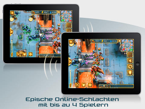Screenshot 2 StarFront: Collision HD