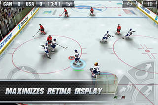 Hockey Nations 2011 Pro iOS Screenshots