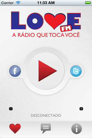 Rádio Love FM Screenshot
