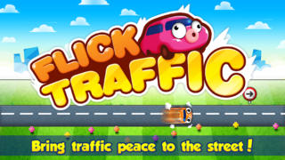 Flick Traffic iOS Screenshots