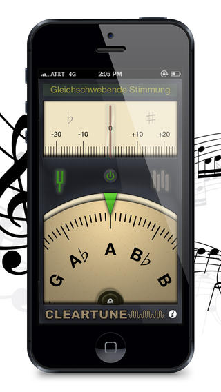 Cleartune - Chromatic Tuner Screenshot