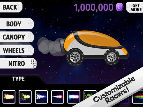 Screenshot 5 Lunar Racer
