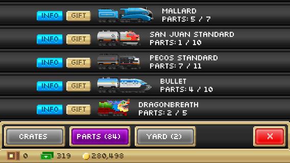 Screenshot 4 Pocket Trains - Railroad Empire Building