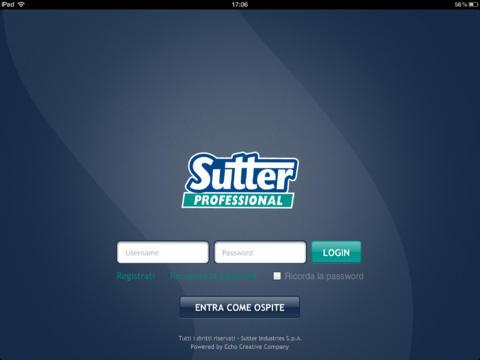 Sutter Professional Italia