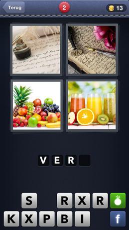 4 Plaatjes 1 Woord iPhone app afbeelding 1