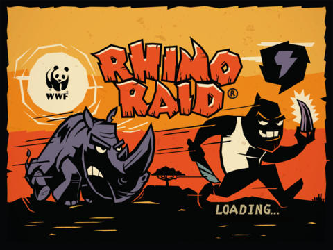 WWF Rhino Raid iOS Screenshots