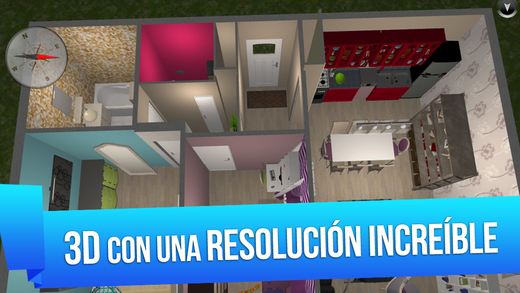 Home design 3d free en el app store for Programa para planos en 3d