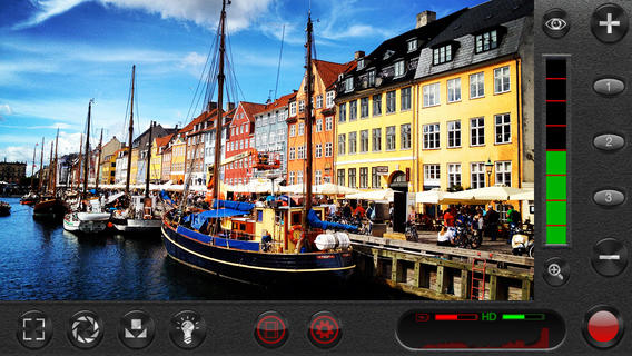A screenshot of FiLMiC Pro