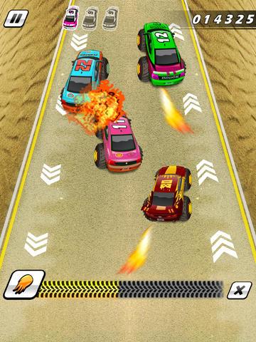 Monster Truck Auto Race Spelletjes Gratis iPad app afbeelding 2