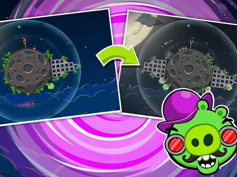 Angry Birds Space iPhone iPad