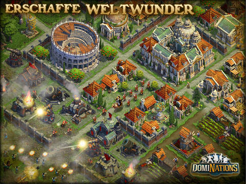 DomiNations iPad