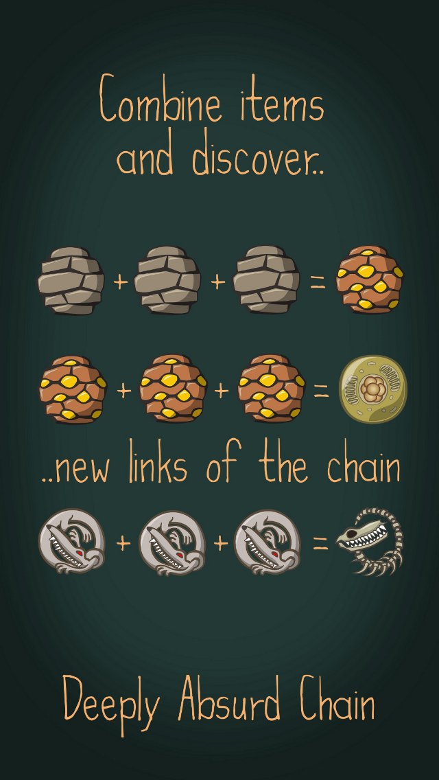 Deeply Absurd Chain iOS Screenshots