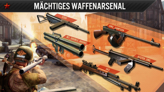 Frontline Commando: WW2 Shooter iPhone iPad