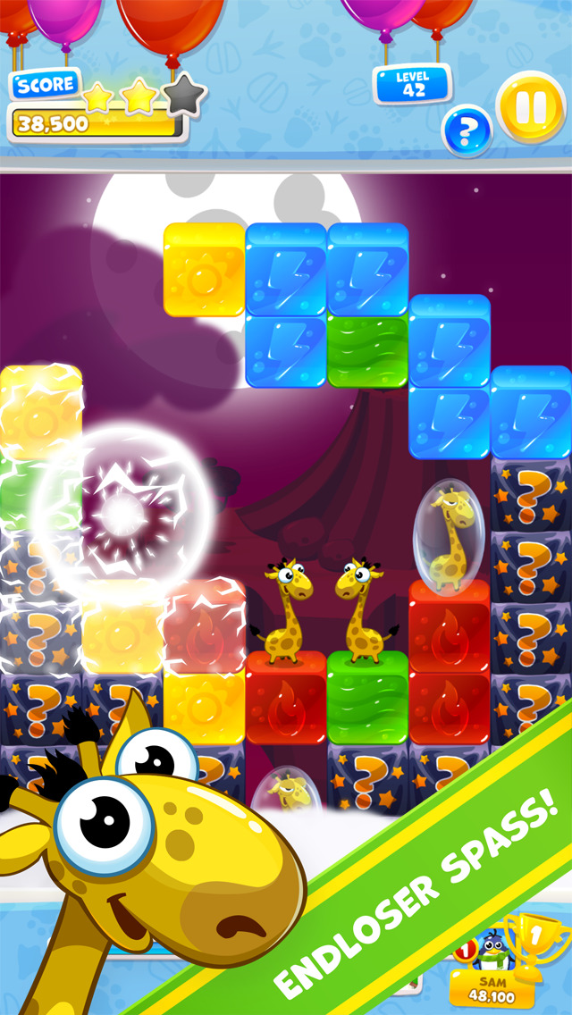 Jelly Zoo iPad