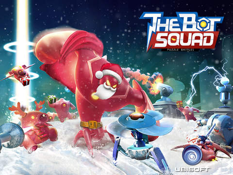 The Bot Squad: Puzzle Battles iOS Screenshots