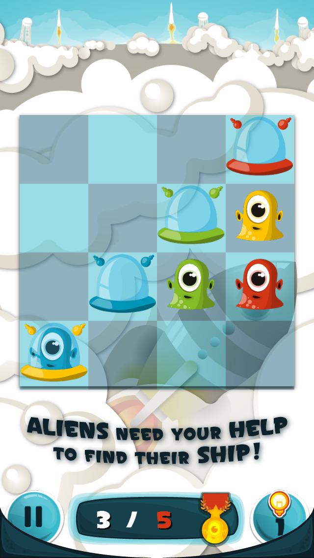 Shuttle Shuffle: Aliens Panic iOS Screenshots