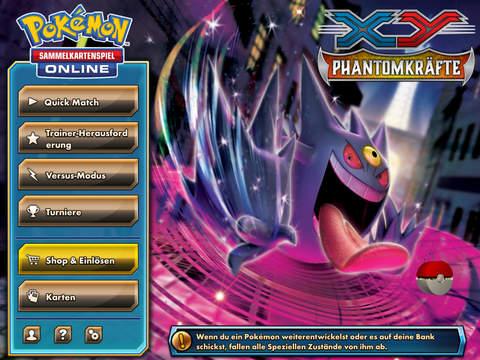 Pokémon Sammelkartenspiel Online iPad Update