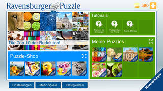 Ravensburger Puzzle iOS Screenshots