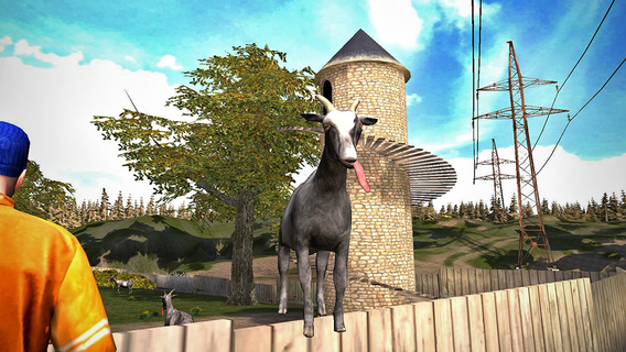 Screenshot 1 Goat Simulator