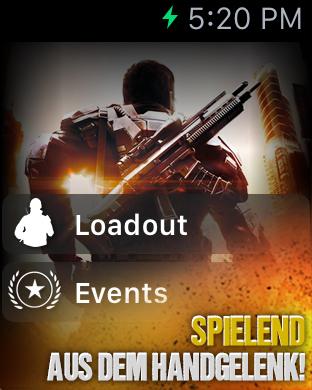 Modern Combat 5: Blackout Apple Watch