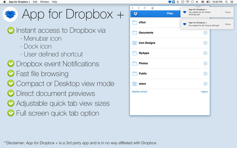 dropbox app gratis