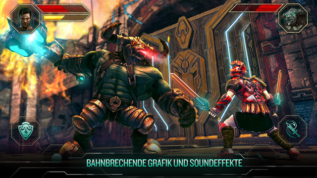 Godfire: Rise of Prometheus iPhone iPad