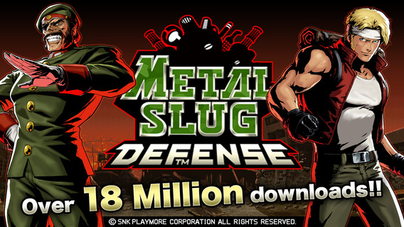 Screenshot 1 METAL SLUG DEFENSE