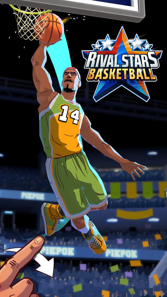 Screenshot 1 Rival Stars Basketball