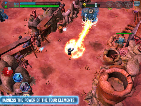 Linkin Park Recharge - Wastelands iOS Screenshots
