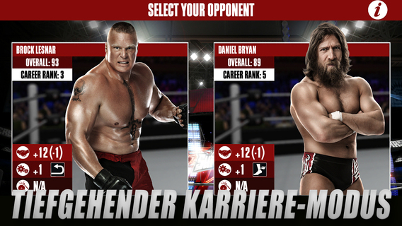 WWE 2K iPad iPhone