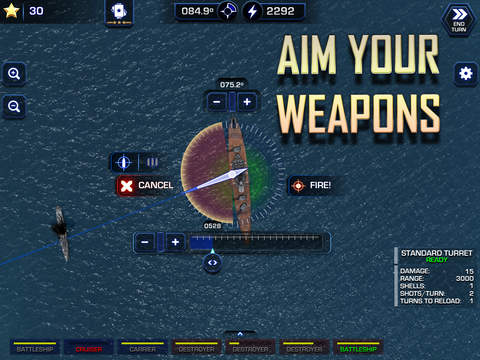 Battle Fleet 2: WW2 in the Pacific iOS Screenshots