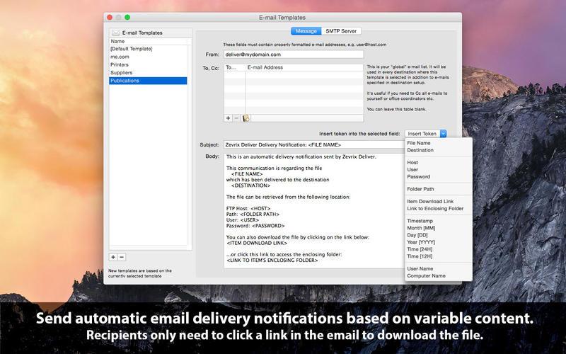 Deliver Screenshots