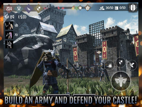 Heroes and Castles 2 iOS Screenshots
