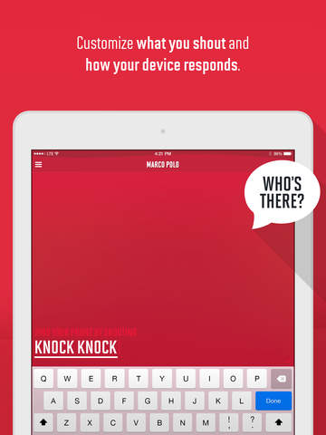 Marco Polo: Find Your Phone by Shouting MARCO! Screenshot
