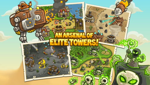 Kingdom Rush Frontiers iPhone iPad