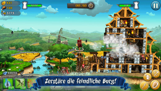 CastleStorm - Free to Siege iPad iPhone Multiplayer Update