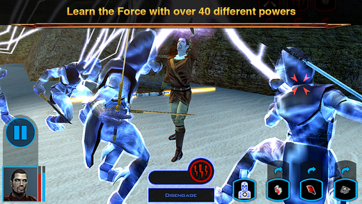 Star Wars: Knights of the Old Republic iPhone iPad