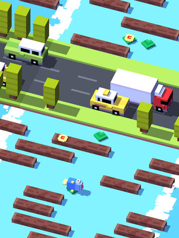 Screenshot 3 Crossy Road