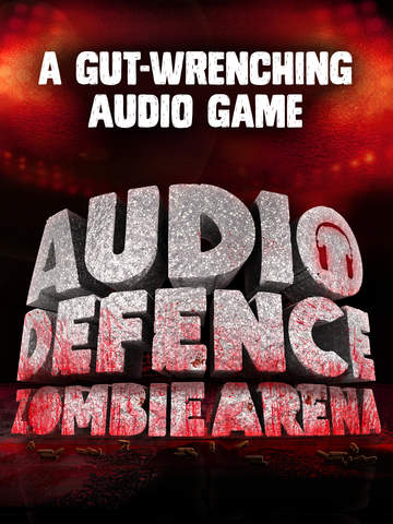 Audio Defence : Zombie Arena iOS Screenshots
