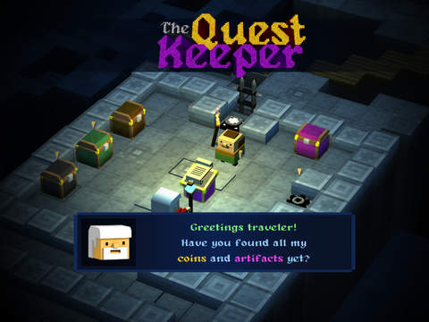 The Quest Keeper iOS Screenshots