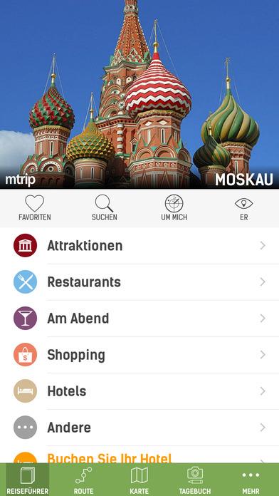 Moskau Reiseführer (Offline Stadtplan) - mTrip Screenshots