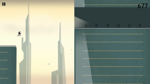 Stickman Roof Runner iOS
