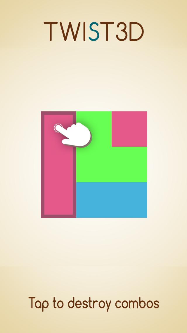 TWIST3D iOS Screenshots