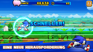 Sonic Runners iOS Screenshots