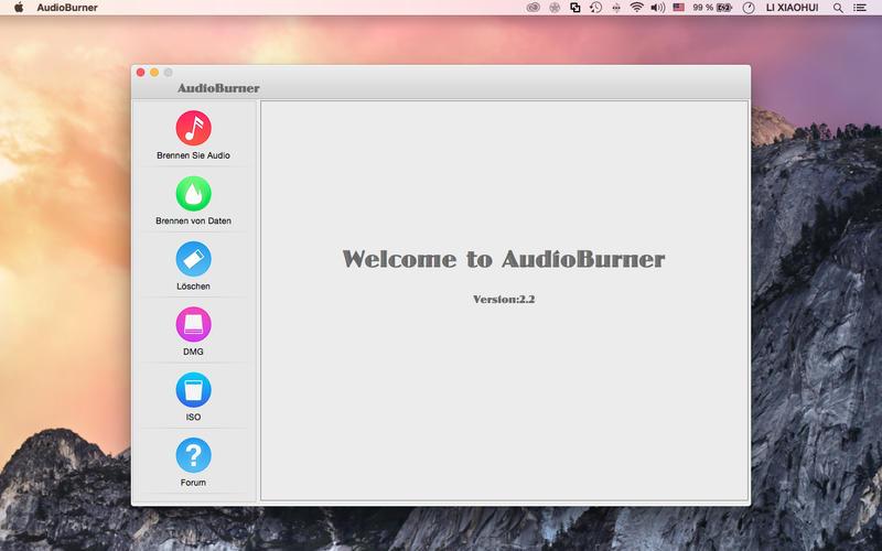 AudioBurner Screenshot