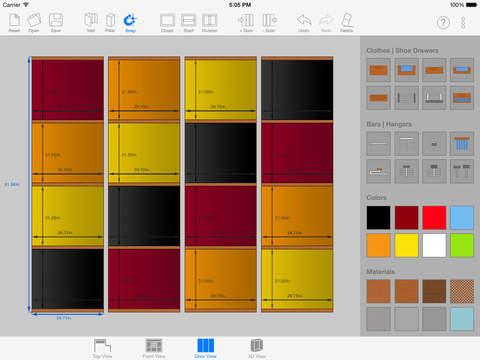 Sketch arm 3d closet designer app insight download for 3d wardrobe planner