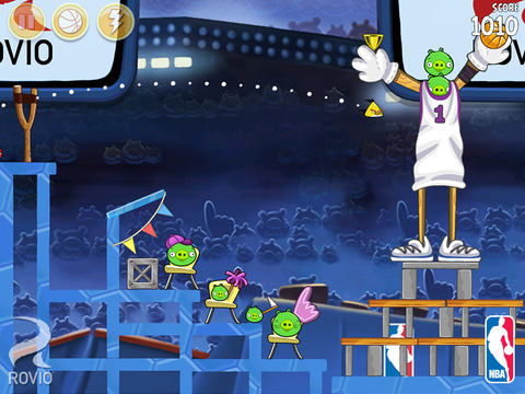 Angry Birds Seasons iPhone iPad